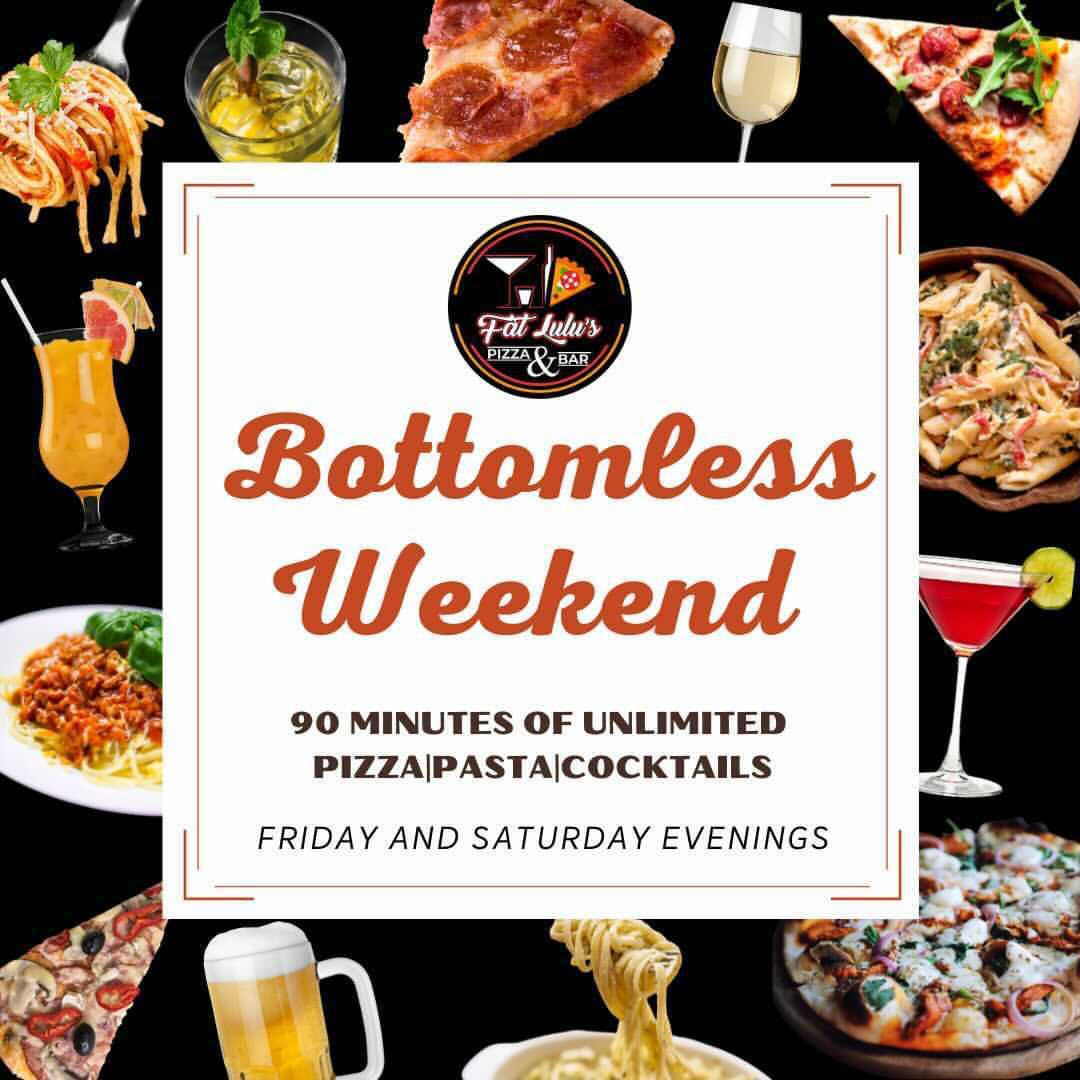 Fat Lulu Pizza Bar Bottomless Weekend